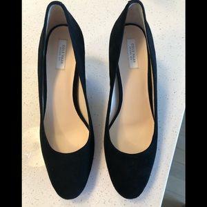 Cole Haan Grand OS Suede Heels - 7 1/2 black